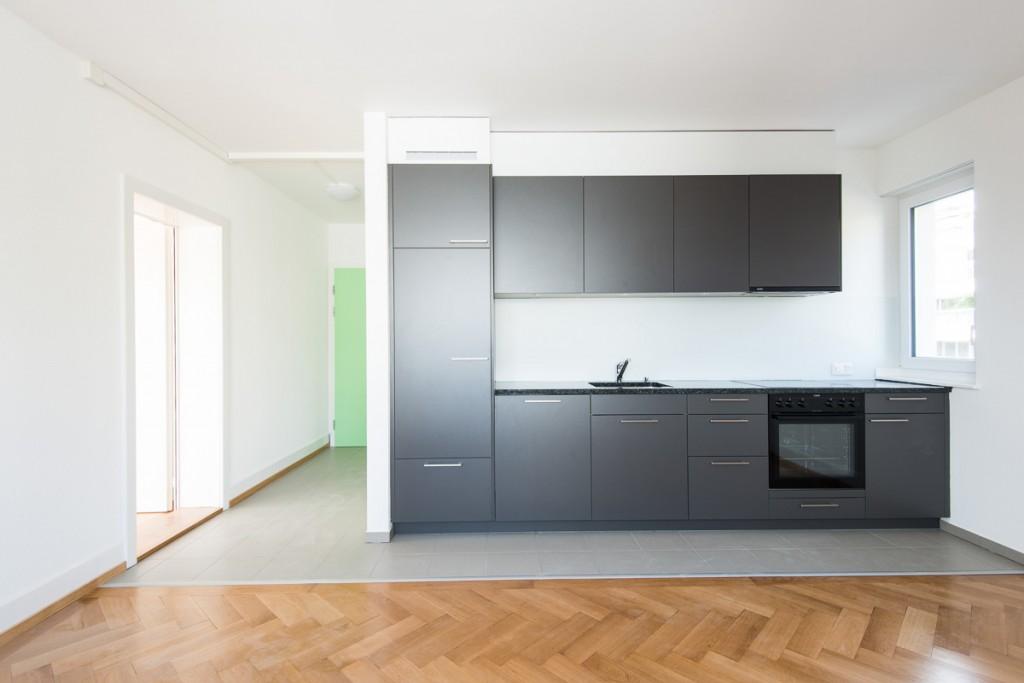 architektur fotografie - ackersteinstrasse zürich - Küche Architektur